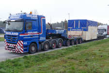 Seeland MB 4160 MP 3 Titan Nr. 45 mit Maschinenkistentransport